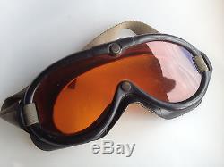 100% Original WW2 US Army Air Force B-8 Flight Goggles