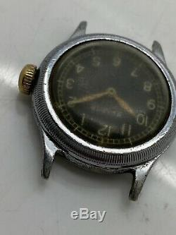 1940's Bulova Military A-11 US ARMY AF-46 AIR FORCE AF WW2 For Repair