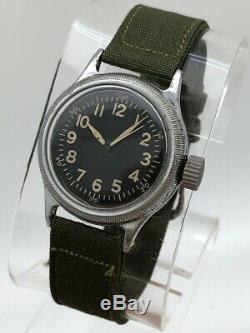 1940's Elgin Military A-11 US ARMY AIR FORCE AF WW2 HACK MOVEMENT ALL ORIGINAL