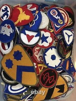 200 WW2 US Army Patches Air Corp AirBorne Armored Division