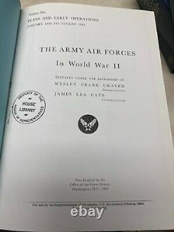 7 Volumes The US Army Air Forces in World War II Office of Air Force History