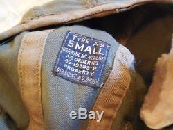 #9 WWII A-9 Air Force U. S Army AAF Pilot Flight Helmet With Googles