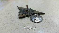 Air Force USSR Army 1938 Year Type Pilot-Technician Badge Medal Ultra Rare WW 2