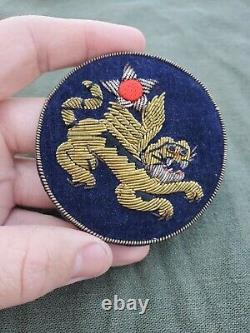 BEAUTIFUL RARE WWII US Army Air Corps 14th Air Force AVG Bullion Patch