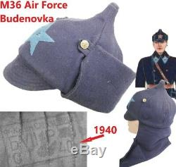 Budenovka Air Force Pilot Red Army WW2 1940