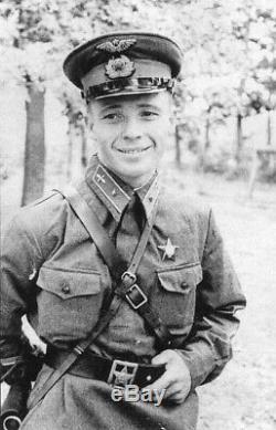 Cap Air Force cap 1940 RKKA Stalingrad WW2 Red Army visor