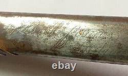 Chinese Nationalist Air Force PERSONALIZED dagger China national army dirk WWII