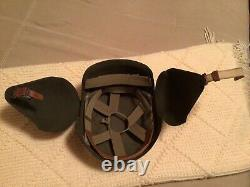 EXCELLENT Original WWII US Army Air Forces USAAF M5 Flak Helmet & Liner WW2