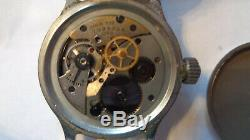 Elgin A-11 WWII US Military Watch 539 MVMT Pilot Coined Edge Case Army Air Force