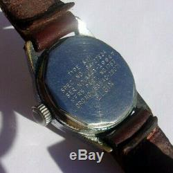 Elgin Us Army Air Force 16j A-11 Military Grade 539 Runs Well 1944 Wwii Watch