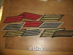 Huge Lot Of 358 WW2 (WWII) Era Military Patches (Army, Navy, Air Force)