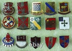 Mixed Lot Of 140 Insignia Pin Dui/di Usn Navy Marine Air Force Army Wwii