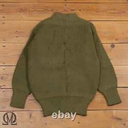 NOS 1940s WW2 Vintage US Army Air Force USAAF Mechanic A-1 Wool Sweater 40