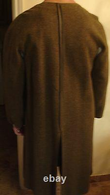 Named Capt Cassin Ww2 Army Air Force Officer'44 Trench Coat W Liner Belt 36r