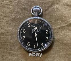 ORIGINAL Type A-8 Navigation Stop Watch Waltham US Army Air Force WWII 8th USAAF