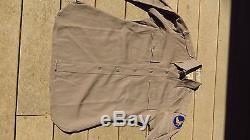 ORIGINAL WW2 US Army Air Corps Officer Pinks Uniform Shirt 15 1/2 x 32 1/2