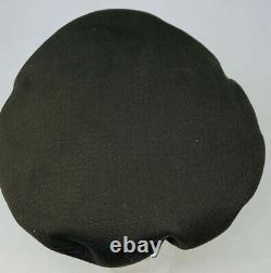 ORIGINAL WWII US Army Air Corps Bancroft Flighter Crusher Cap EXCELLENT Size 7