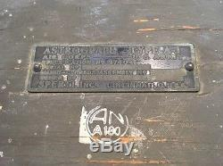Original U. S. Army Air Corps Astrograph Type A-1 By Sperti Case & Box Bulbs