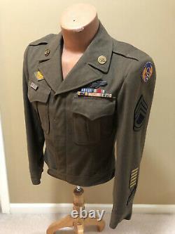 Original WW2 8th AAF Army Air Corps Gunners Ike Jacket
