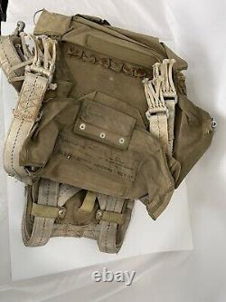 Original WW2 Army Air Force AN-6510 Seat Pack Parachute NO Chute See Photos