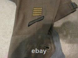 Original WW2 Ike Jacket 12th Army Air Corps SIZE 34 R