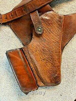 Original WW2 US Army Air Corps Pilot Shoulder Holster for 1911 A1 Colt 45. Auto