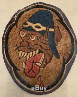 Original WW2 US Army Air Force 36th Fighter Squadron Patch 5th Air Force USAAF