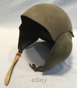Original WW2 U. S. Army Air Forces (AAF) M5 Flak Helmet with Liner, Excellent