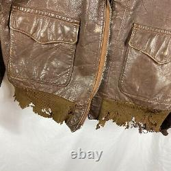 Original WWII A-2 Flight Jacket Army Air Corp Bomber