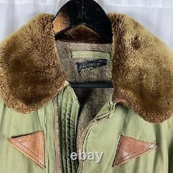 Original WWII US Army Air Corp B-15a Flight Jacket Size 40