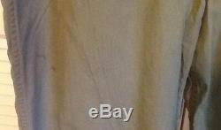 Original WWII US Army Air Forces Summer Flight Suit Size 42 Cotton