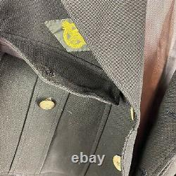 Original WWII WAAC Officer Ike Jacket Large Army air Corp