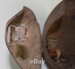 Original WWII WW2 US Army Air Force AAF M5 Flak Helmet Bomber Gunner