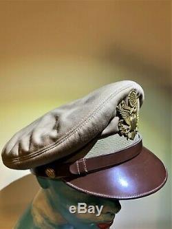 Original World War II Army Air Corps- Lieutenant's Crusher Cap