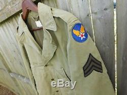 Original Wwii U. S. Army Air Force M-41 Field Jacket