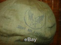 Original Wwii U. S. Army Air Forces A-3 Mechanics Hbt Cap, Near Mint
