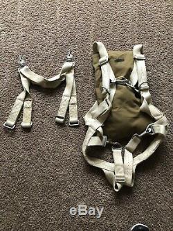 Original Wwii Ww2 Pilot Parachute Harness Air Force Army Navy Bomber Crew
