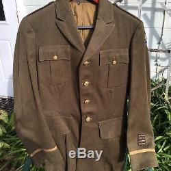 Pre WWII IDd Army Air Corps Officers Uniform