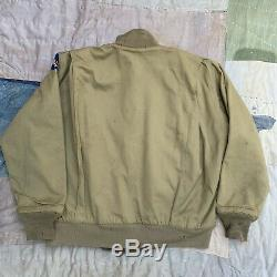 RARE World War 2 USAAF Tanker Jacket Large Winter Combat Army Air Forces Conmar