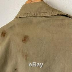 Rare Vintage WW2 WWII Army Air Corp Summer Flying Suit AN Medium Large