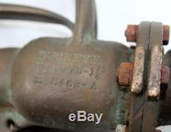 Rare WW2 Army Air Corp. Brass Buckeye Fig 775 Airplane Fuel Nozzle
