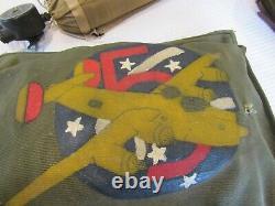 Rare Ww2 Id'ed, Army Airforce Grouping, Nose Art, Garment Bag, Air Tank, Goggles, F
