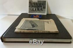 Scarce WWII 95th Bomb Group Unit Book Contrails 1945 Air Force Military Army