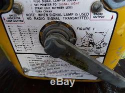 Seenot Funkgerät US Navy Army Air Force WW II mit allem Zubehör