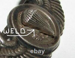 Sterling Ww2 United States Army Air Force Air Borne Pilots Wing