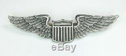 Stunning U. S. Army Air Corps Wings Post WWI 1920's 1930's Pre WWII Aviator Pilot