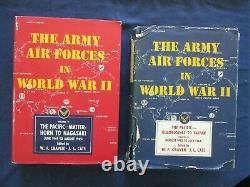 The Army Air Forces in World War II WWII Set Vol 1-7 Most with Dust Jackets