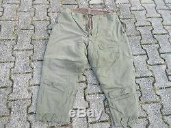 US ARMY AIR FORCE USAAF Flight Trousers Pants A-10 Alpaca WW2 WK2 Fliegerhose #2