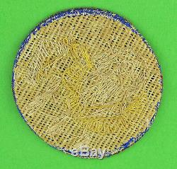 US Army 5th Air Force Theater-Made Bullion Patch Original WW2 WWII