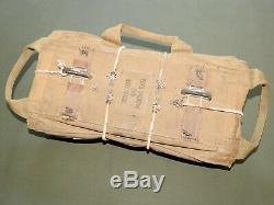 US Army AAF WW2 8TH AIR FORCE PILOT YELLOW GROUP QAC A-4 CHEST PARACHUTE PACK